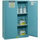 JUSTRITE 893002 Blue Corrosive/Acid Safety Cabinet (Storage)