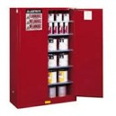 JUSTRITE 894501 Red Flammable Safety Cabinet (Storage)