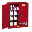 JUSTRITE 893001 Red Flammable Safety Cabinet (Storage)