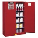 JUSTRITE 896000 Yellow Flammable Safety Cabinet (Storage) 60 Gallon
