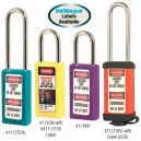 Master Lock 411 Bilingual Thermoplastic Safety Padlock